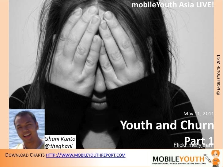 mobileYouth Asia LIVE!<br />May 11, 2011<br />Youth and Churn<br />Part 1<br />Ghani Kunto<br />@theghani<br />