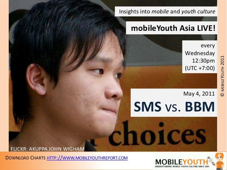 MobileYouth Asia LIVE: SMS vs BBM