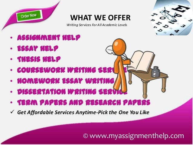 Professional Assignment Writing Service Online