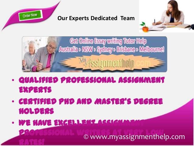 Custom Essay and Dissertation Help