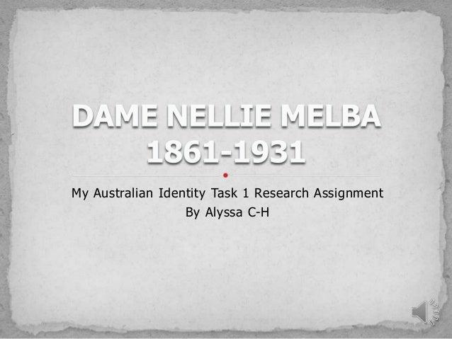 My australian identity assignment by alyssa ch
