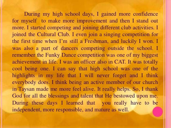 My Biography Essay