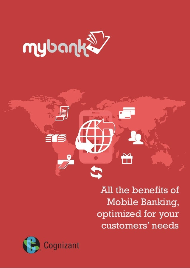 All the benefits of Mobile Banking, optimized for your customers' needs mybank