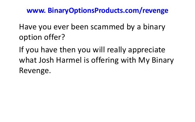 Binary option software scams