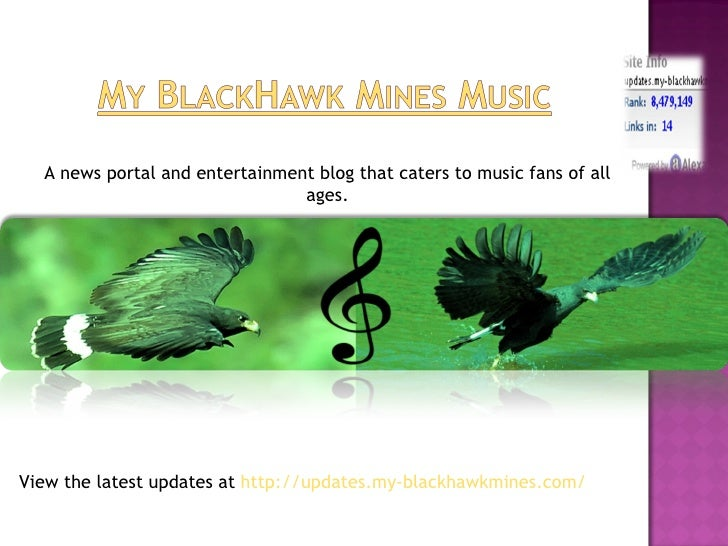 A news portal and entertainment blog that caters to music fans of all                                ages.View the latest ...