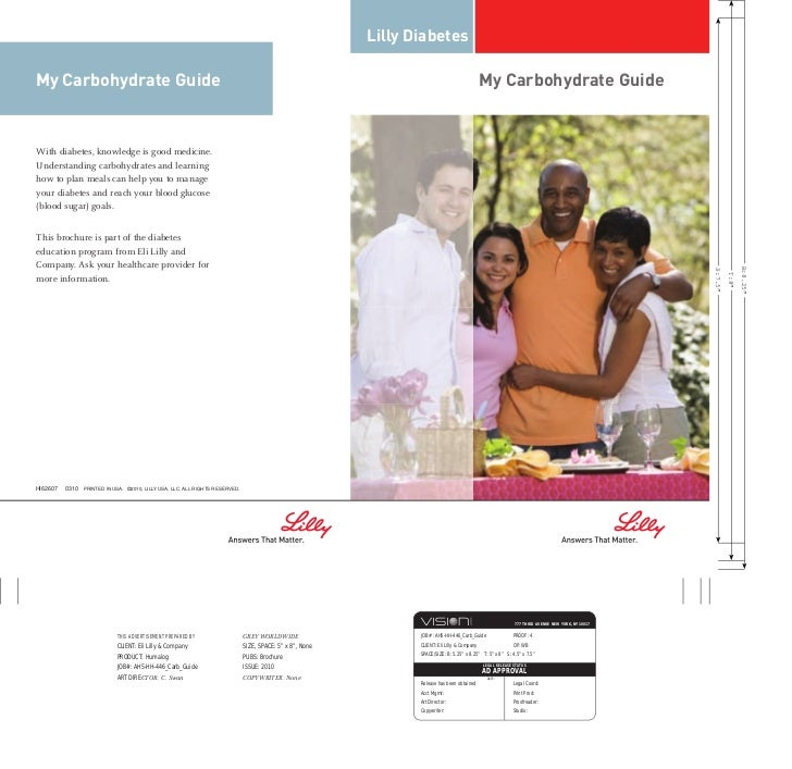 Lilly DiabetesMy Carbohydrate Guide                                                                         My Carbohydrat...