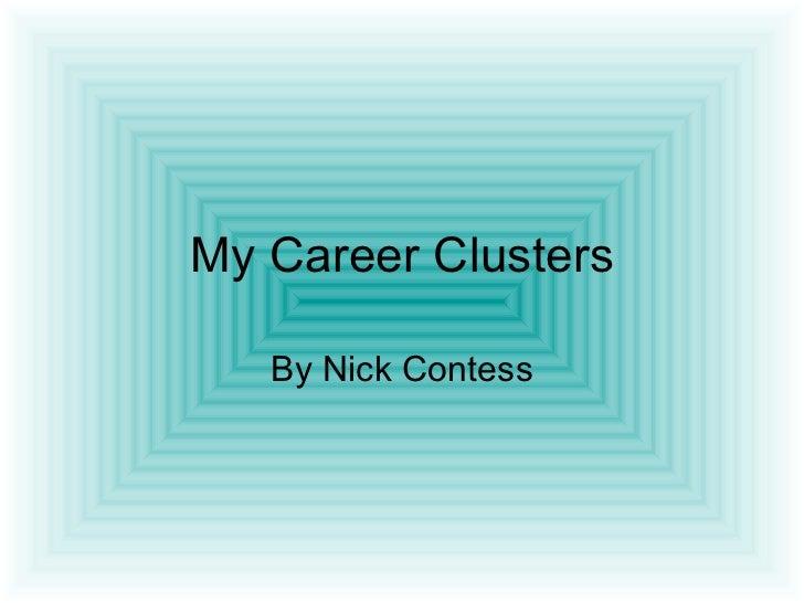 My Career Clusters