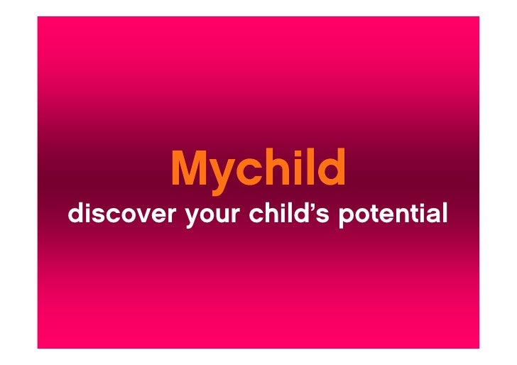 discover your child's potential