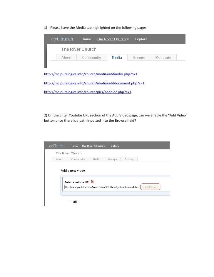 Mychurch File Upload