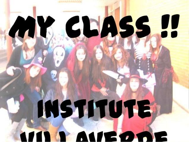 My class !!