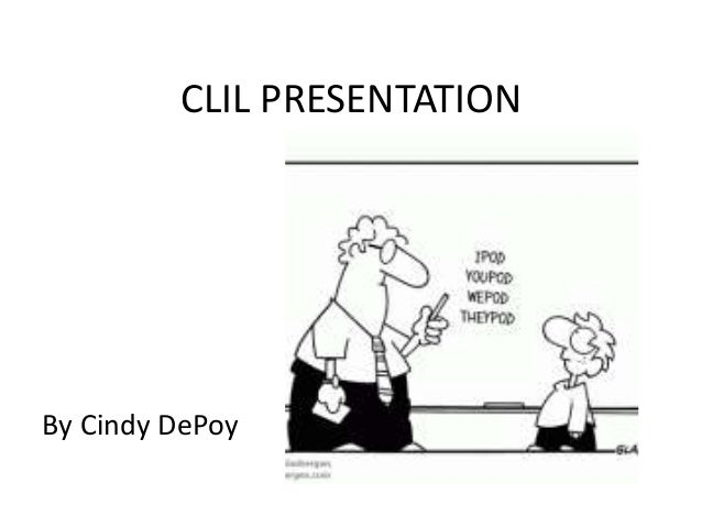 Short CLIL presentation-Cindy DePoy