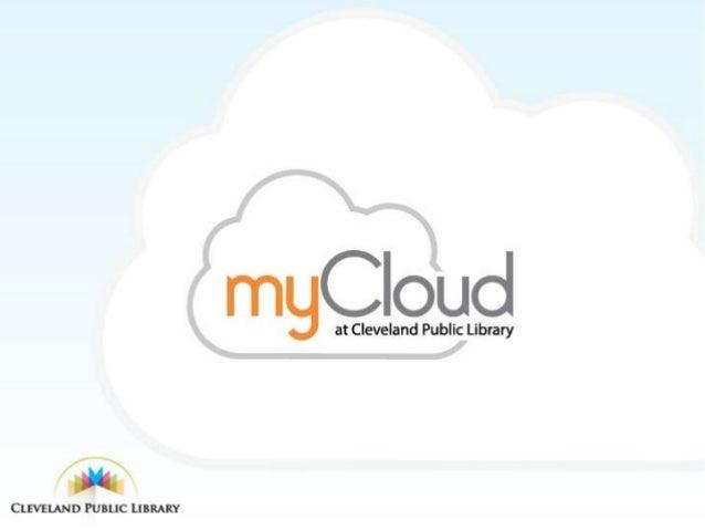 myCloud at Cleveland Public Library