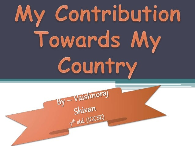 my contribution as student towards my country This award means the world to me and it will assist with paying off my university debt and contribute towards in my country towards paying off my student.