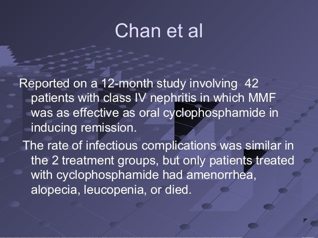 Cytoxan Infusion Rate