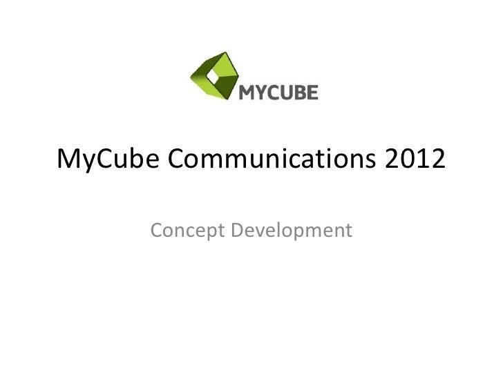 My cube presentation_chblma
