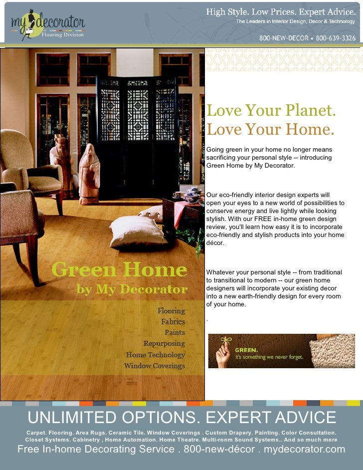 My Decorator Green Home Refgd