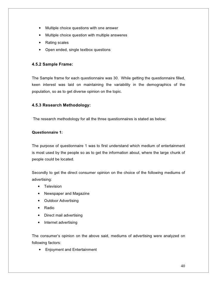 Dissertation on online advertising