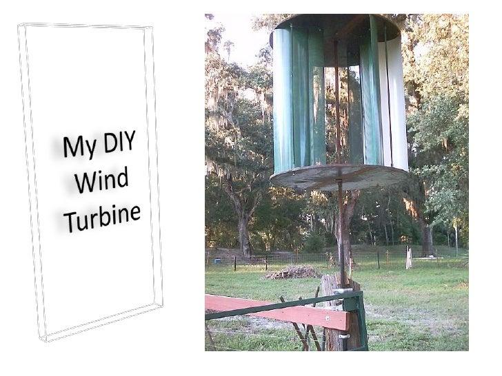 My DIY Wind Turbine