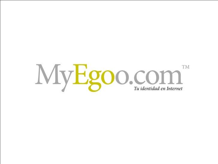 MyEgoo Presentación