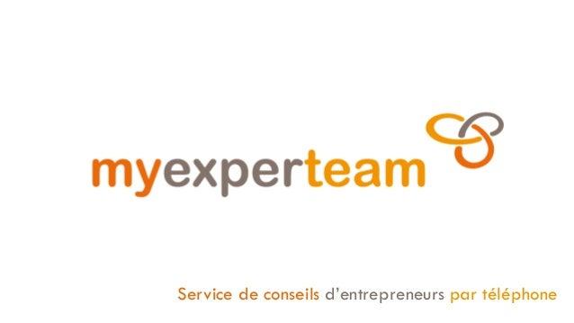 Service de conseils d'entrepreneurs par téléphone