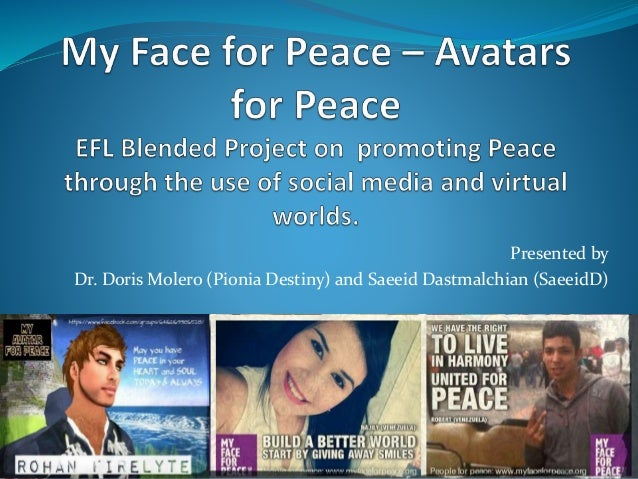 My Face for Peace - Avatars for Peace