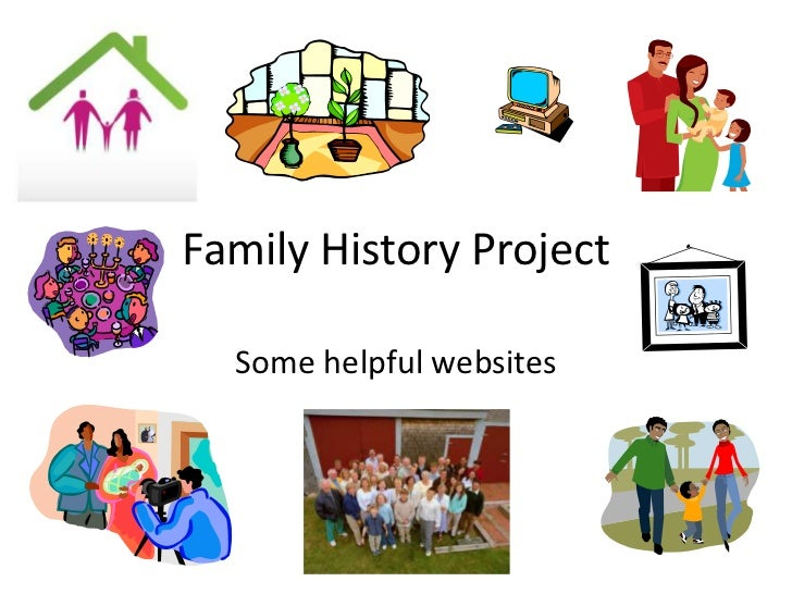 Family History Project  Some helpful websites