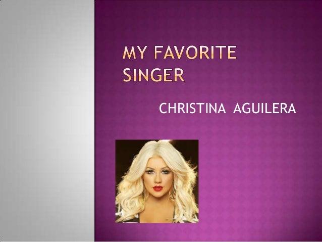 famous singer essay