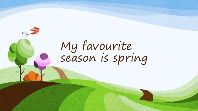 spring essay season