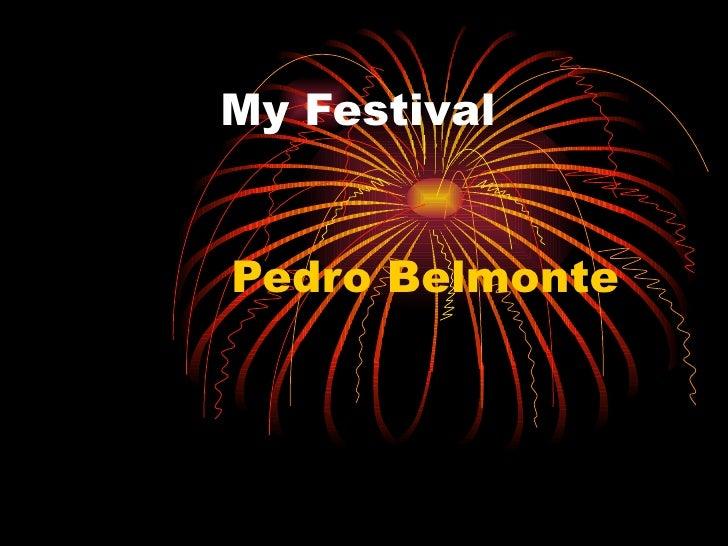 My festival