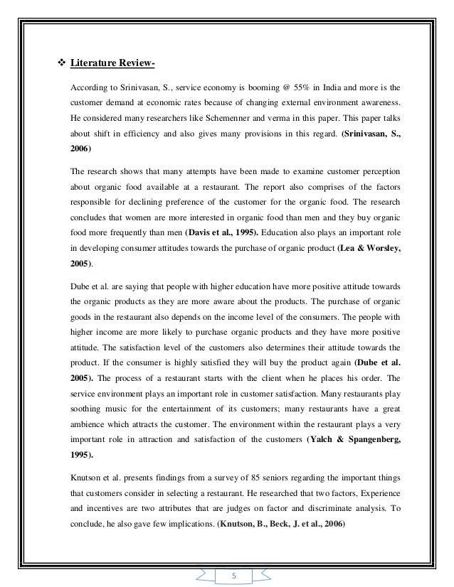 E-services literature review