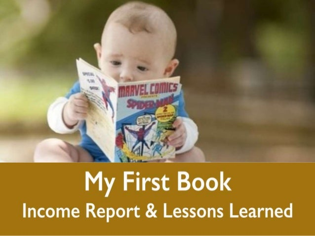 My First Book Income Report and Lessons Learned