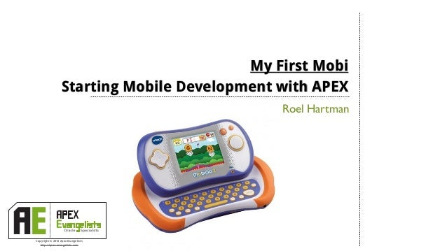 My first mobi - Starting Mobile Web Development with APEX