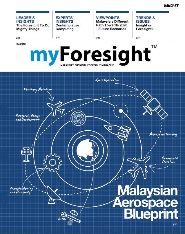 myForesight Aerospace Blueprint