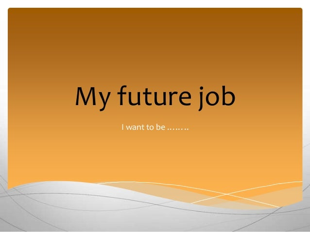 for success in a future job