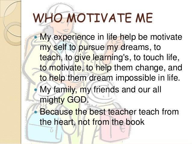 My future us a teacher