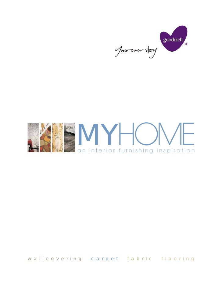 MYHOME                      an interior furnishing inspiration     w a l l c o v e r i n g   c a r p e t   f a b r i c   f...