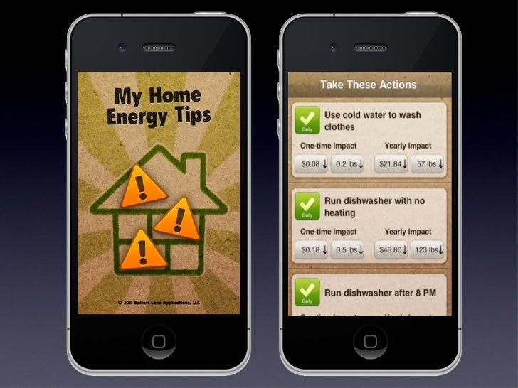My homeenergytips presentation 2012