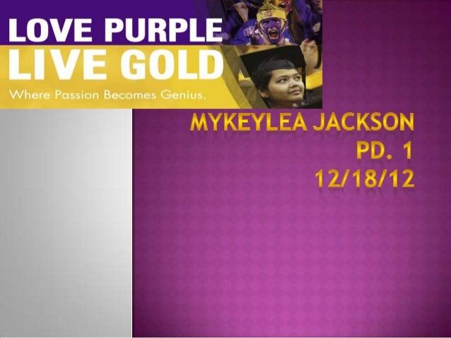 Mykeylea jackson lsu presentation