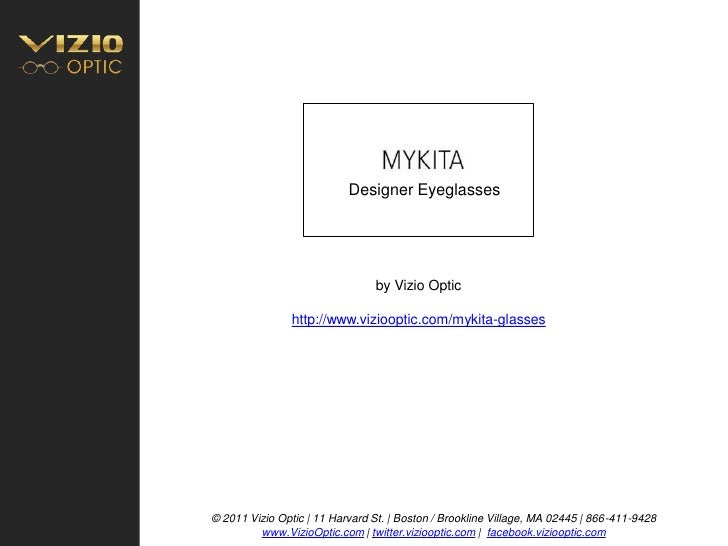 Mykita eyeglasses
