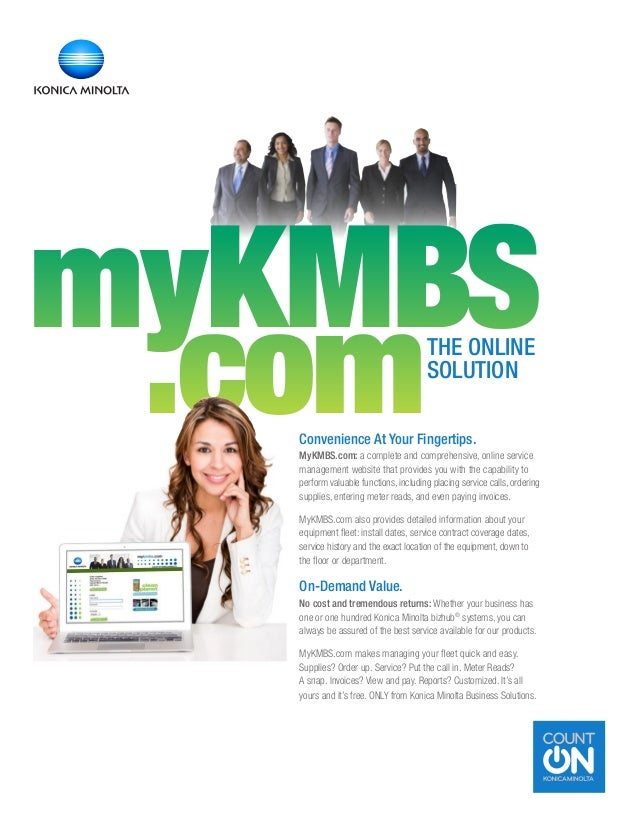 Convenience At Your Fingertips. MyKMBS.com: a complete and comprehensive, online service management website that provides ...
