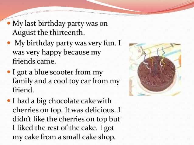 my birthday party essay essay birthday y gxart my birthday y  my birthday y essay gxart orgmy last year s birthday y