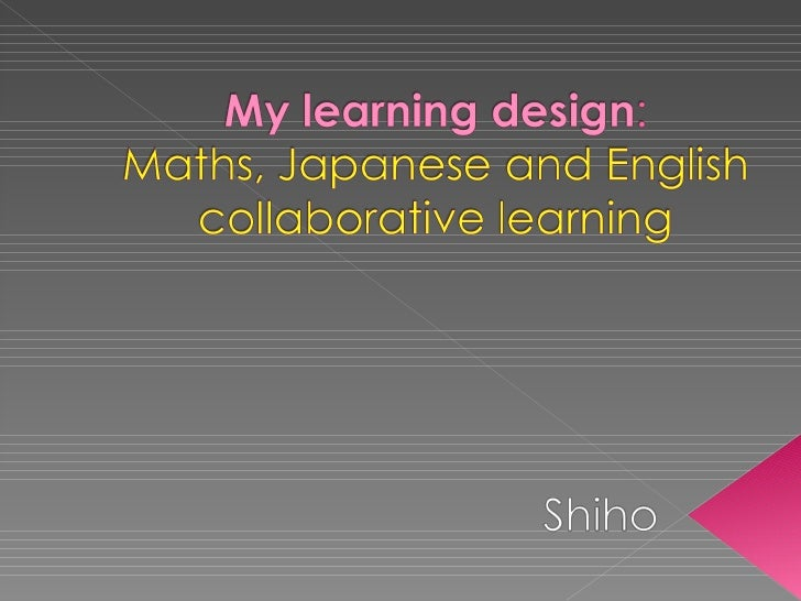 My Learning Design