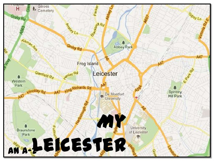 My leicester   psychogeography project
