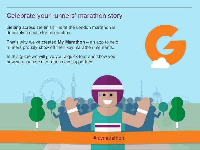 My Marathon by JustGiving