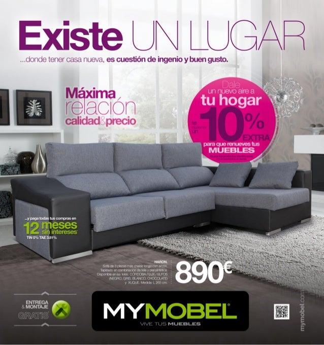 Cat logo de muebles y decoraci n mymobel primavera 2013 - Catalago de muebles ...