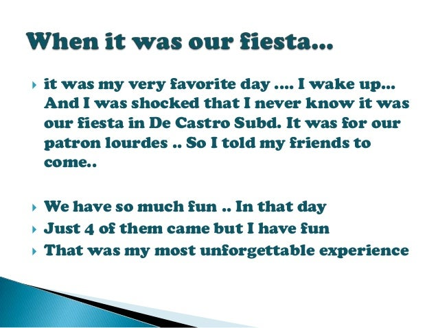 my life experience essay