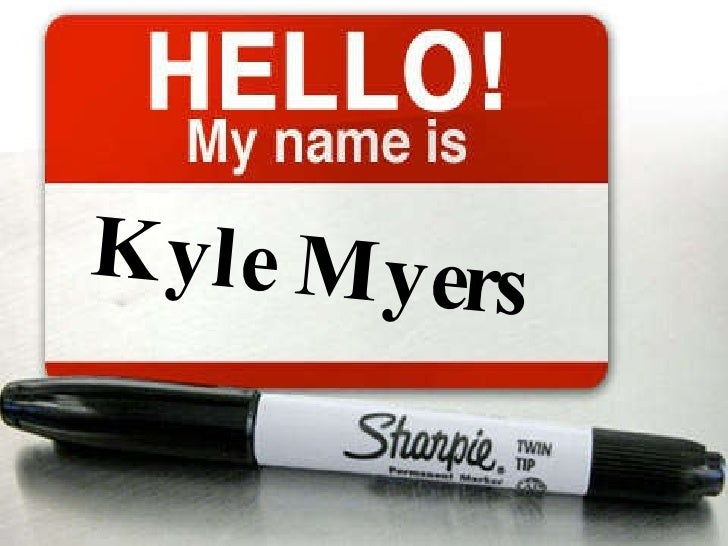 Kyle Myers