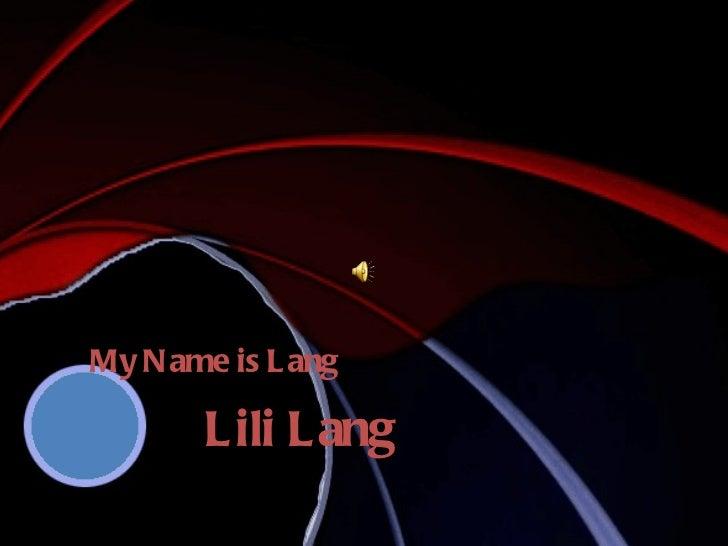 My name is lili  skociafinal
