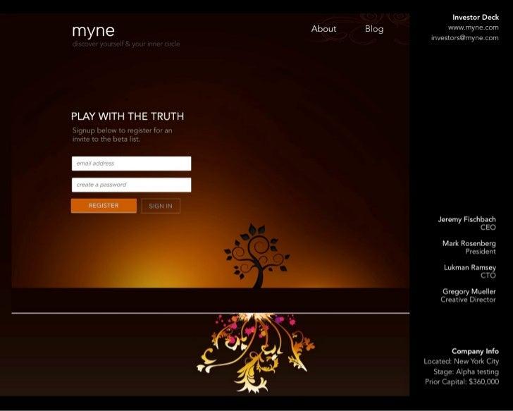 Myne investor deck_8-2011