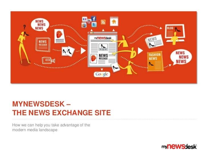 Mynewsdesk for communicators, March 2011